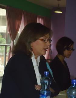 Ирина Красовская приняла участие в международной конференции по насильственным исчезновениям