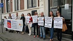 Акция солидарности в Нидерландах