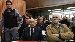 Хорхе Видела и Рейнальдо Биньоне приговорены к длительному лишению свободы за похищение детей