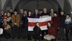 В Варшаве молились за свободу Беларуси