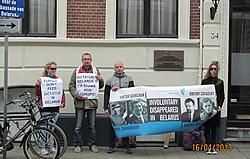 В Нидерландах состоялась акция солидарности