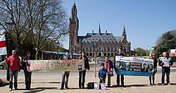 Акция памяти Юрия Захаренко прошла в Гааге