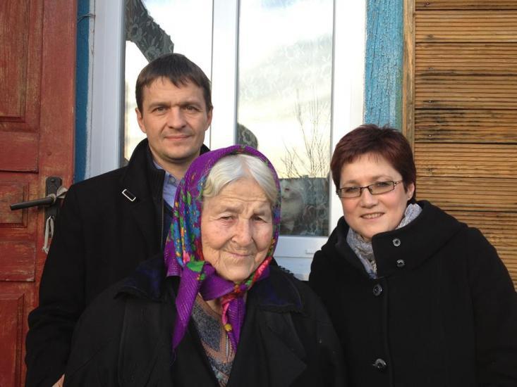 Правозащитники встретились с матерью Юрия Захаренко