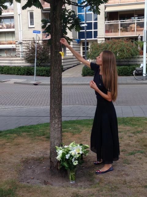 16 сентября в Эйндховене почтили память насильственно исчезнувших белорусов